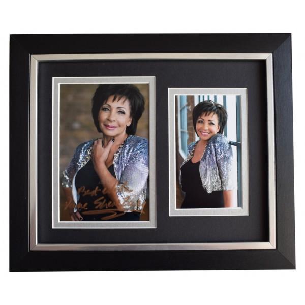 Shirley Bassey  SIGNED 10x8 FRAMED Photo Autograph Display James Bond Music  AFTAL  COA Memorabilia PERFECT GIFT