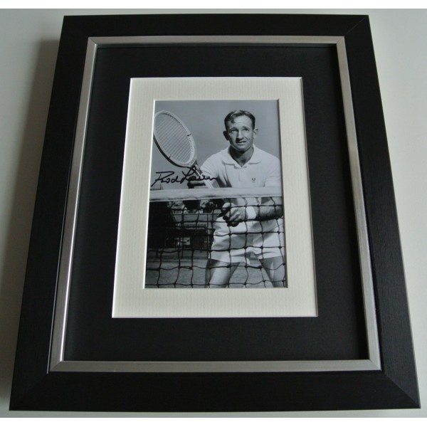 Rod Laver SIGNED 10x8 FRAMED Photo Mount Autograph Display Tennis AFTAL & COA     PERFECT GIFT