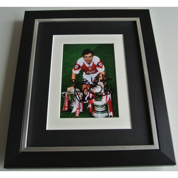 Alan Smith SIGNED 10x8 FRAMED Photo Mount Autograph Display Arsenal AFTAL & COA   PERFECT GIFT