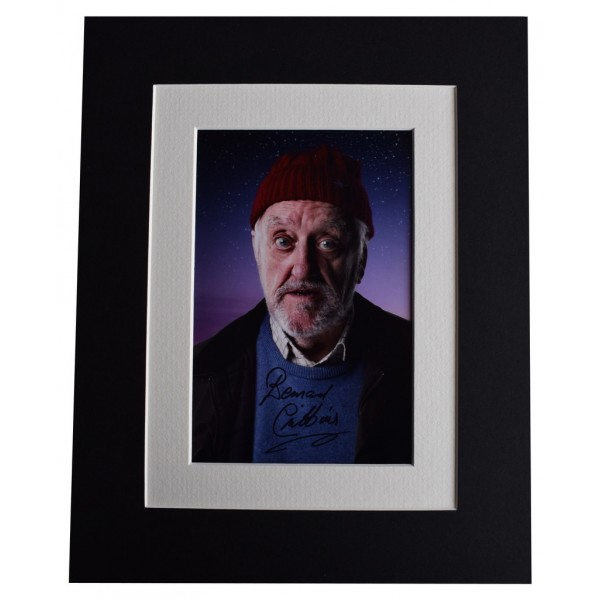 Bernard Cribbins Signed Autograph 10x8 photo display Doctor Who TV  AFTAL  COA Memorabilia PERFECT GIFT