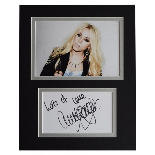 Amelia Lily Signed Autograph 10x8 photo display Music   AFTAL  COA Memorabilia PERFECT GIFT