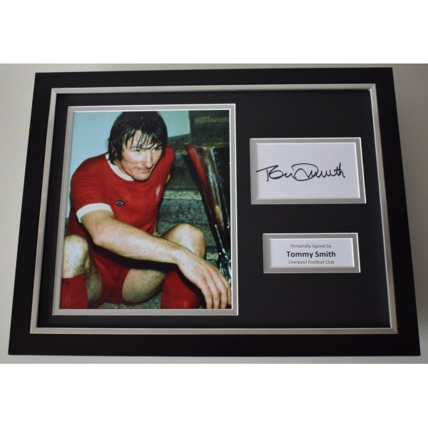 Tommy Smith SIGNED FRAMED Photo Autograph 16x12 display Liverpool   AFTAL & COA Memorabilia PERFECT GIFT