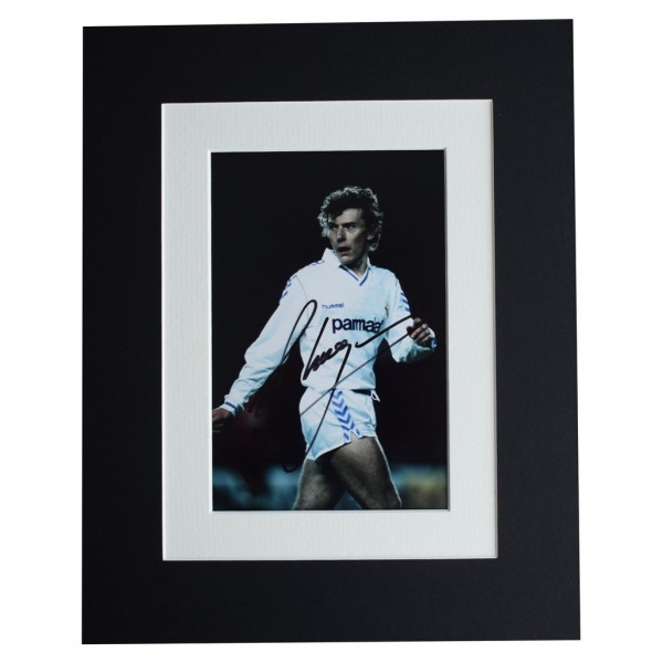 Emilio Butragueno Signed Autograph 10x8 photo display Real Madrid Football  AFTAL  COA Memorabilia PERFECT GIFT