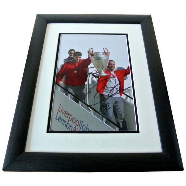 Rafa Benitez SIGNED FRAMED Photo Autograph 16x12 display Liverpool AFTAL COA  PERFECT GIFT