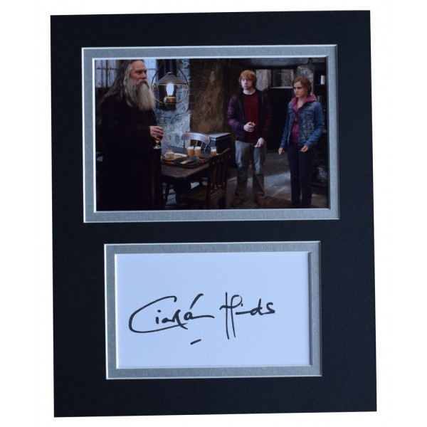 Ciaran Hinds Signed Autograph 10x8 photo display Harry Potter Film     AFTAL  COA Memorabilia PERFECT GIFT