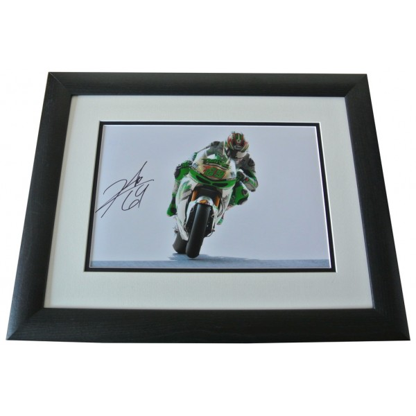 Nicky Hayden SIGNED FRAMED Photo Autograph 16x12 LARGE display Superbikes & COA  PERFECT GIFT
