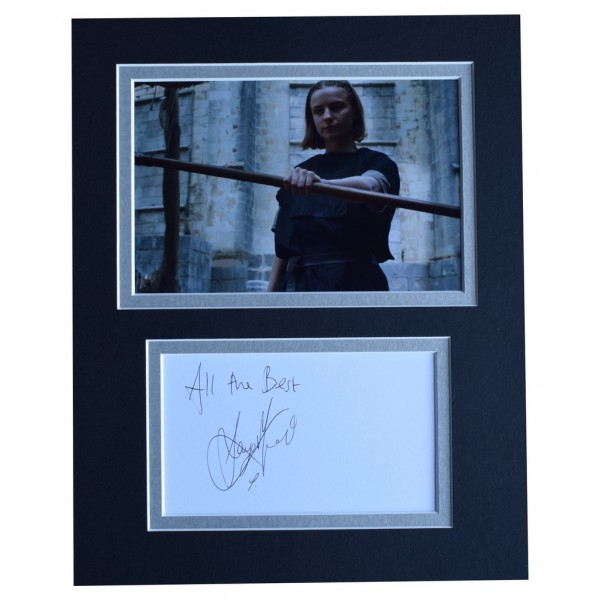 Faye Marsay Signed Autograph 10x8 photo display Game of Thrones TV    AFTAL  COA Memorabilia PERFECT GIFT