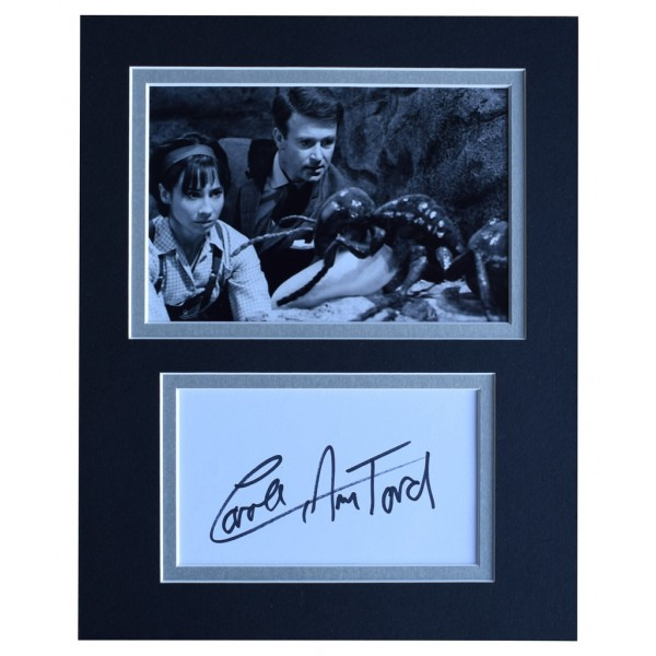 Carole Ann Ford Signed Autograph 10x8 photo display Doctor Who TV   AFTAL  COA Memorabilia PERFECT GIFT