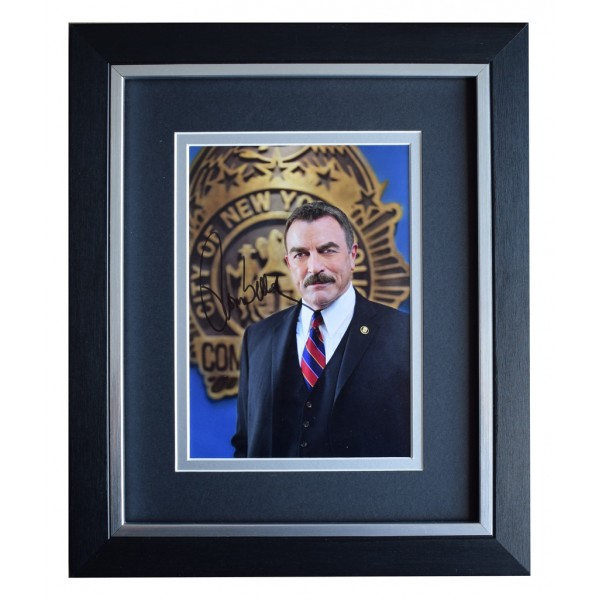 Tom Selleck SIGNED 10x8 FRAMED Photo Autograph Display Blue Bloods TV  AFTAL  COA Memorabilia PERFECT GIFT