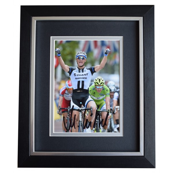 Marcel Kittel SIGNED 10x8 FRAMED Photo Autograph Display Cycling Sport AFTAL  COA Memorabilia PERFECT GIFT