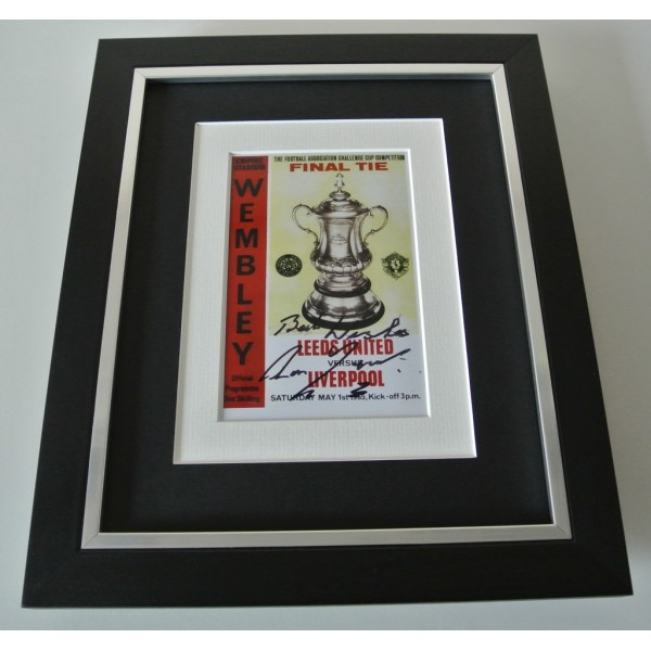 Ron Yeats SIGNED 10x8 FRAMED Photo Autograph Display Liverpool 1965 FA Cup & COA  PERFECT GIFT