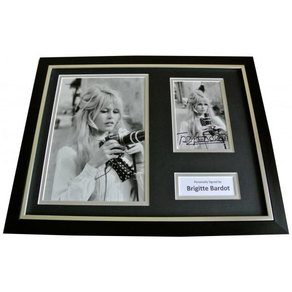 BRIGITTE BARDOT Signed FRAMED Autograph 16x12 Photo Display HOLLYWOOD Film & COA    PERFECT GIFT
