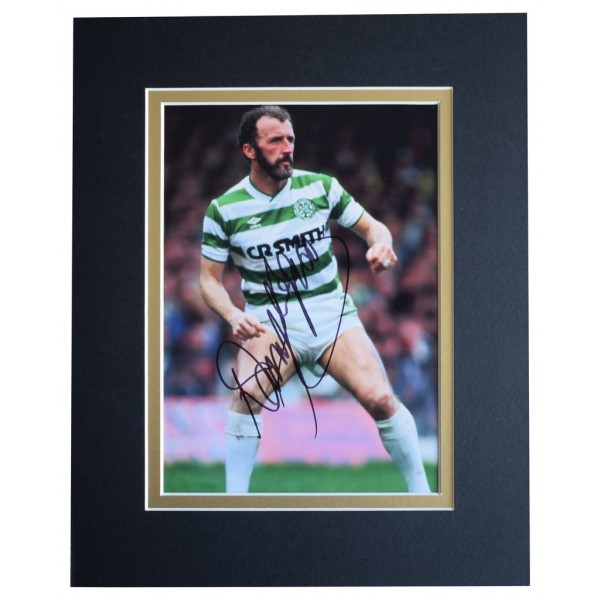 Danny McGrain Signed Autograph 10x8 photo display Celtic Football    AFTAL  COA Memorabilia PERFECT GIFT