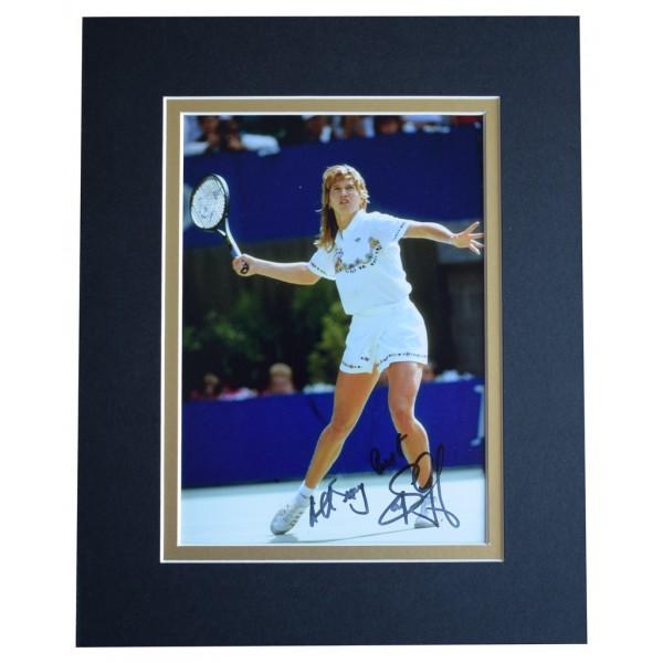 Steffi Graf Signed Autograph 10x8 photo display Tennis Sport  AFTAL  COA Memorabilia PERFECT GIFT