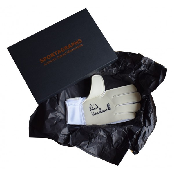 David Marshall SIGNED Goalkeeper Glove Autograph Gift Box Hull City Football  AFTAL  COA Memorabilia PERFECT GIFT