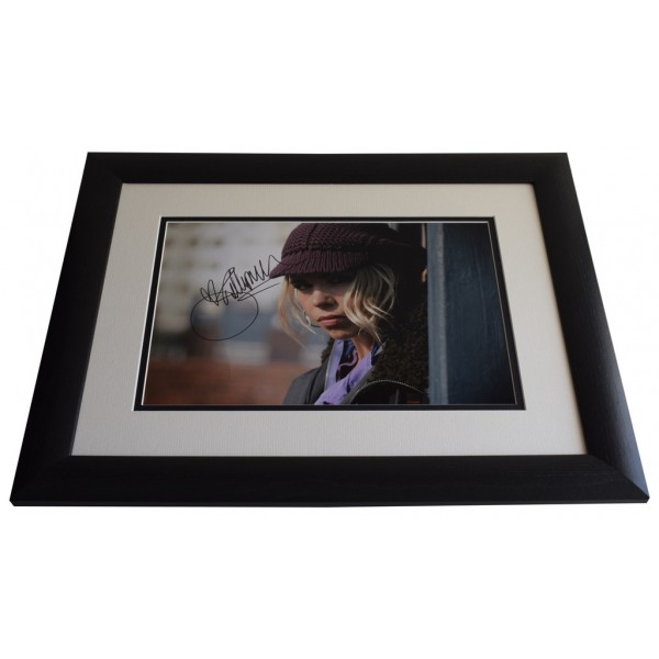 Billie Piper SIGNED FRAMED Photo Autograph 16x12 LARGE display Doctor Who   AFTAL & COA  PERFECT GIFT