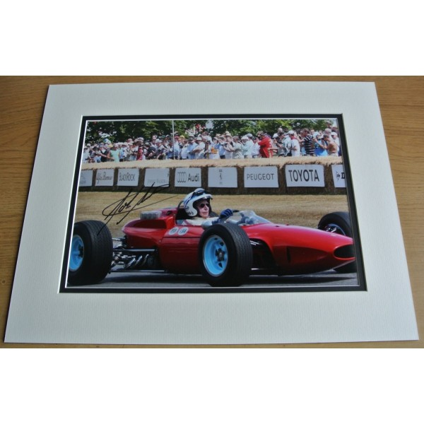 John Surtees SIGNED autograph 16x12 LARGE photo display Formula 1 AFTAL & COA  PERFECT GIFT