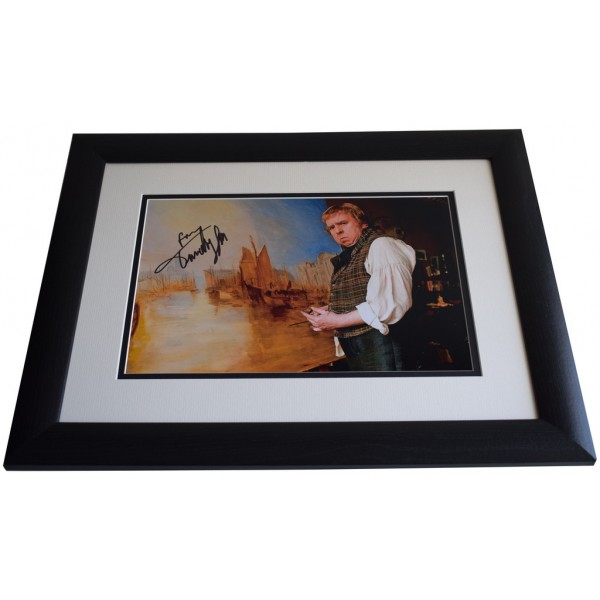 Timothy Spall SIGNED FRAMED Photo Autograph 16x12 LARGE display Mr Turner    AFTAL & COA  PERFECT GIFT