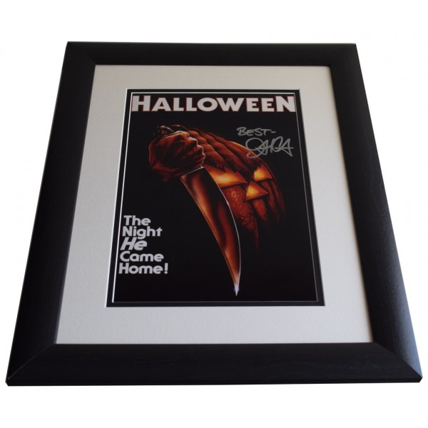 John Carpenter SIGNED FRAMED Photo Autograph 16x12 LARGE display Halloween    AFTAL & COA  PERFECT GIFT