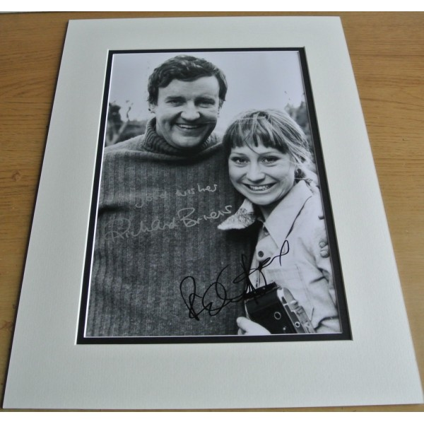 Richard Briers & Felicity Kendal SIGNED autograph 16x12 LARGE photo display COA  PERFECT GIFT
