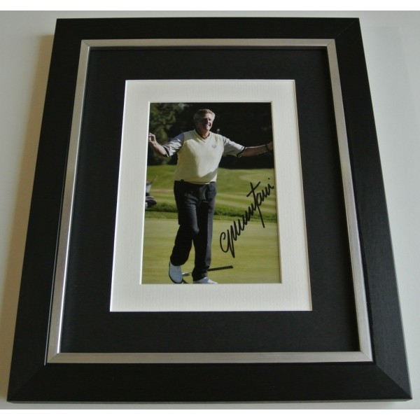 Colin Montgomerie SIGNED 10x8 FRAMED Photo Autograph Display Golf  & COA  AFTAL SPORT  Memorabilia    PERFECT GIFT