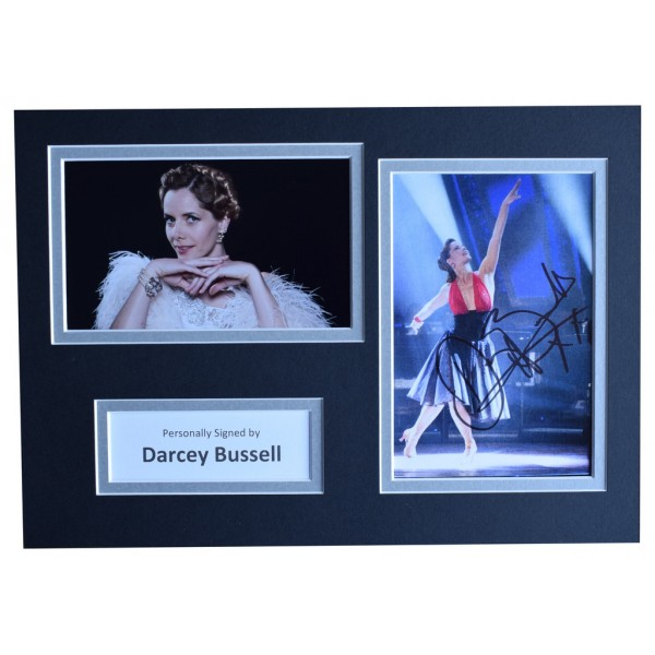 Darcey Bussell Signed Autograph A4 photo display Strictly Come Dancing  AFTAL  COA Memorabilia PERFECT GIFT