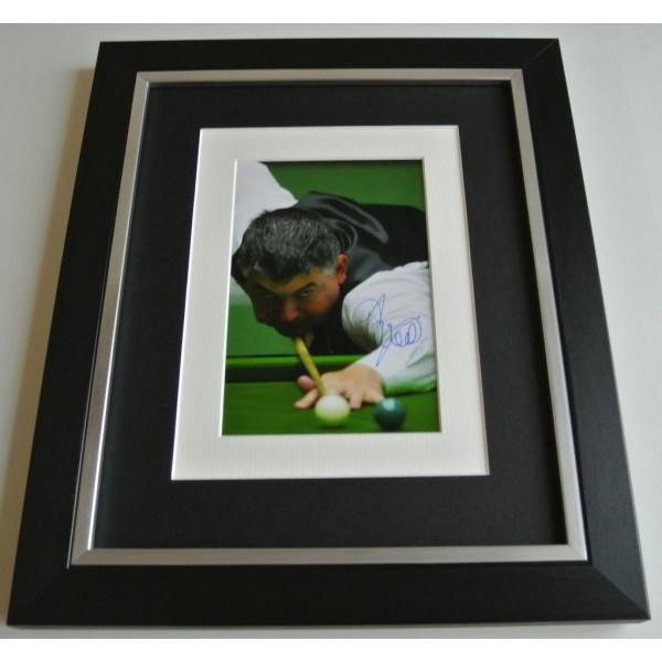 John Parrott SIGNED 10x8 FRAMED Photo Autograph Display Snooker AFTAL COA  Sport Memorabilia    PERFECT GIFT