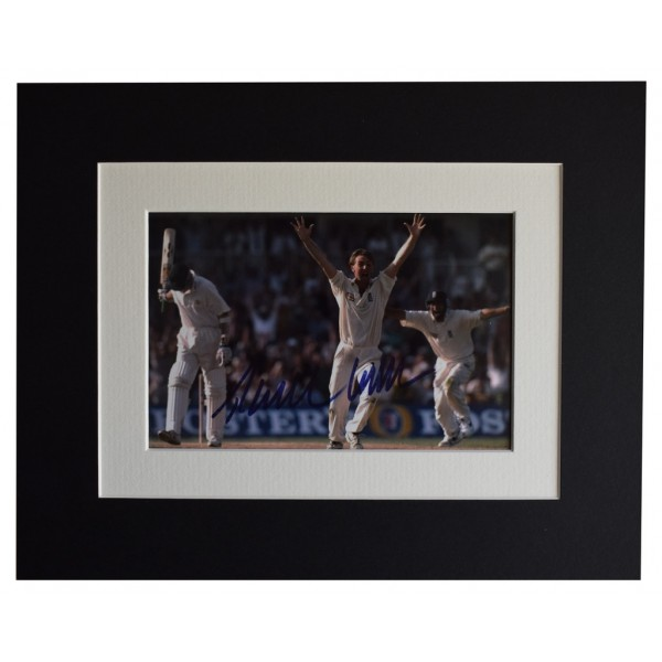 Phil Tufnell Signed Autograph 10x8 photo display England Cricket AFTAL  COA Memorabilia PERFECT GIFT