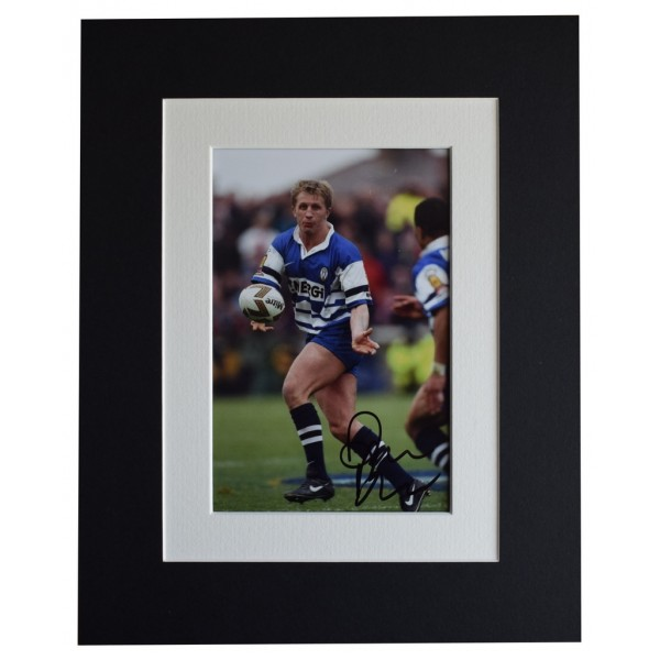 Denis Betts Signed Autograph 10x8 photo display Wigan Rugby League Sport AFTAL  COA Memorabilia PERFECT GIFT
