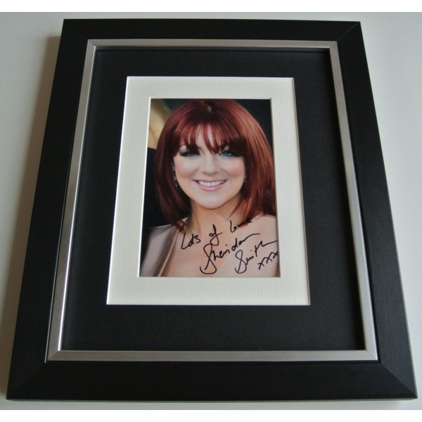 Sheridan Smith SIGNED 10x8 FRAMED Photo Autograph Display Cilla Black & COA  AFTAL  TV FILM Memorabilia    PERFECT GIFT