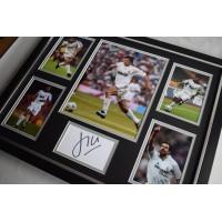 Luis Figo SIGNED Framed Photo Autograph Huge display Real Madrid Football     Memorabilia AFTAL & COA  PERFECT GIFT