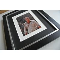 Bear Grylls SIGNED 10x8 FRAMED Photo Autograph Display Man V Wild TV AFTAL COA TV FILM Memorabilia PERFECT GIFT