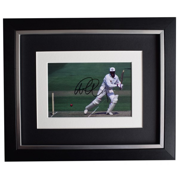 Graham Gooch SIGNED 10x8 FRAMED Photo Autograph Display England Cricket   AFTAL  COA Memorabilia PERFECT GIFT