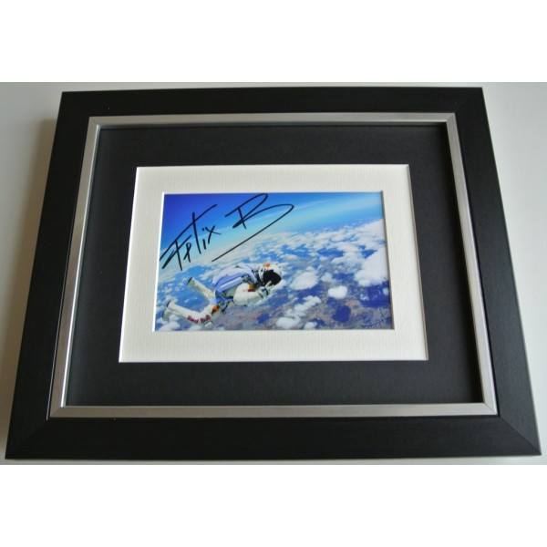 Felix Baumgartner SIGNED 10x8 FRAMED Photo Autograph Display Space  AFTAL & COA TV FILM Memorabilia PERFECT GIFT