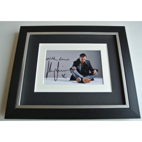 John Simm SIGNED 10x8 FRAMED Photo Autograph Display Doctor Who Life on Mars AFTAL & COA TV FILM Memorabilia PERFECT GIFT