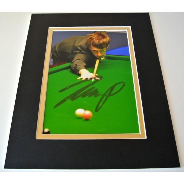 Judd Trump Signed Autograph 10x8 photo mount display Snooker Memorabilia & COA