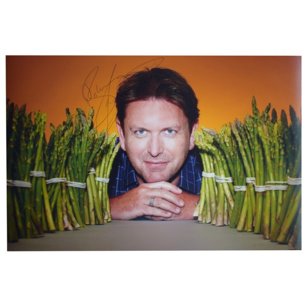 James Martin SIGNED 12x8 Photo Autograph Chef Saturday Kitchen TV  AFTAL  COA Memorabilia PERFECT GIFT