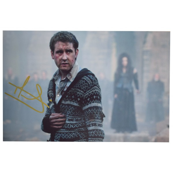 Matthew Lewis SIGNED 12x8 Photo Autograph Harry Potter Film   AFTAL  COA Memorabilia PERFECT GIFT