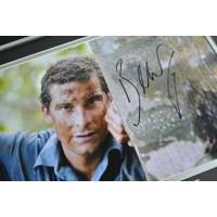 Bear Grylls SIGNED FRAMED Photo Autograph 16x12 display SAS Man v Wild TV COA AFTAL Memorabilia PERFECT GIFT