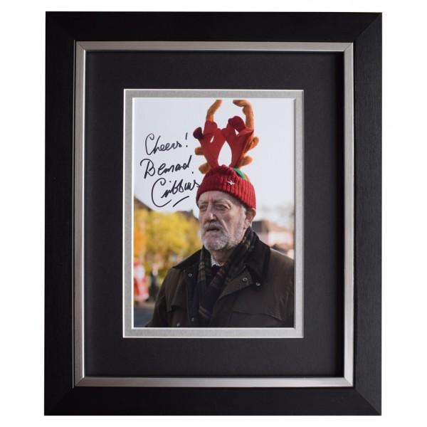 Bernard Cribbins SIGNED 10x8 FRAMED Photo Autograph Display Doctor Who TV AFTAL  COA Memorabilia PERFECT GIFT