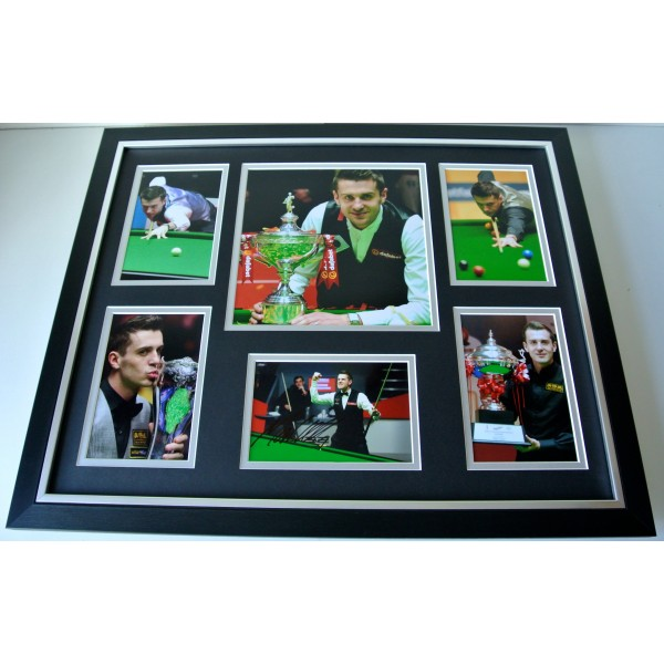Mark Selby SIGNED FRAMED Photo Autograph Huge display Snooker Champion & COA