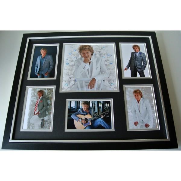 Rod Stewart SIGNED FRAMED Photo Autograph Huge display Baby Jane Music & COA