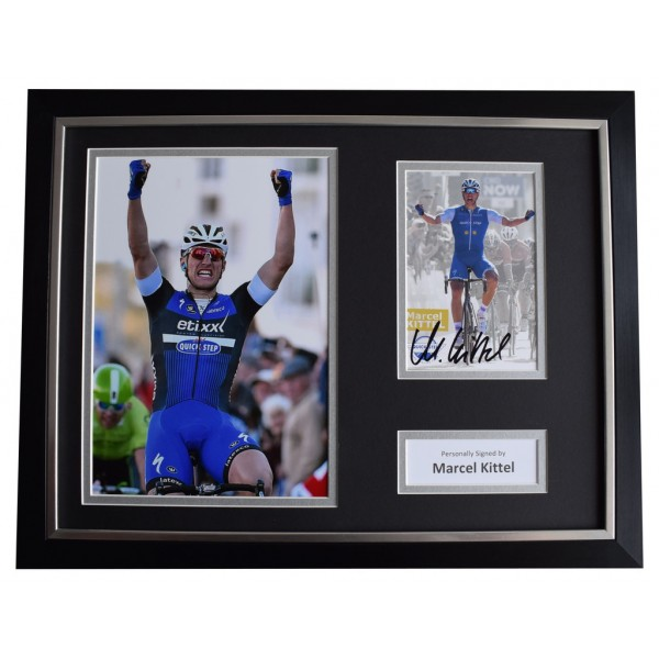 Marcel Kittel Signed FRAMED Photo Autograph 16x12 display Cycling Sport  AFTAL  COA Memorabilia PERFECT GIFT