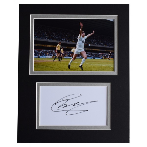Chris Waddle Signed Autograph 10x8 photo display Tottenham Hotspur AFTAL  COA Memorabilia PERFECT GIFT