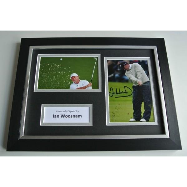 Ian Woosnam Signed A4 FRAMED photo Autograph display Golf Sport AFTAL & COA SPORT Memorabilia PERFECT GIFT