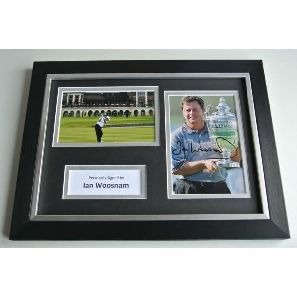 Ian Woosnam Signed A4 FRAMED photo Autograph display Golf AFTAL & COA SPORT Memorabilia PERFECT GIFT