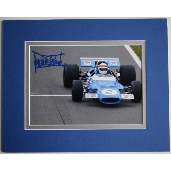 Jackie Stewart Signed Autograph 10x8 photo display Formula One F1 Memorabilia  AFTAL & COA PERFECT GIFT