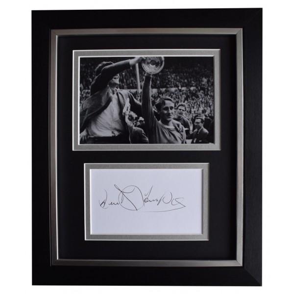Derek Temple SIGNED 10x8 FRAMED Photo Autograph Display Everton Football  AFTAL  COA Memorabilia PERFECT GIFT