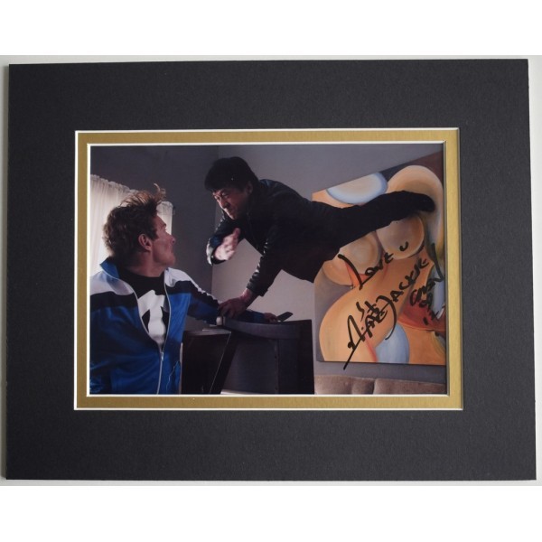 Jackie Chan Signed Autograph 10x8 photo display film karate  Memorabilia  AFTAL & COA PERFECT GIFT