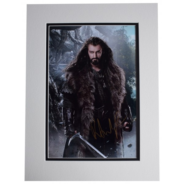 Richard Armitage  SIGNED autograph 16x12 photo display Film Hobbit  AFTAL  COA Memorabilia PERFECT GIFT